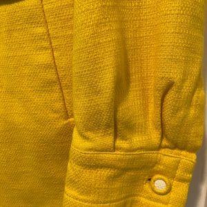 Banana Republic Yellow Trench Coat